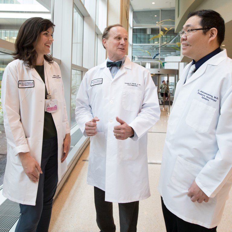 Julia Henry, MD, Douglas Nordli Jr., MD, and Chalongchai Phitsanuwong, MD